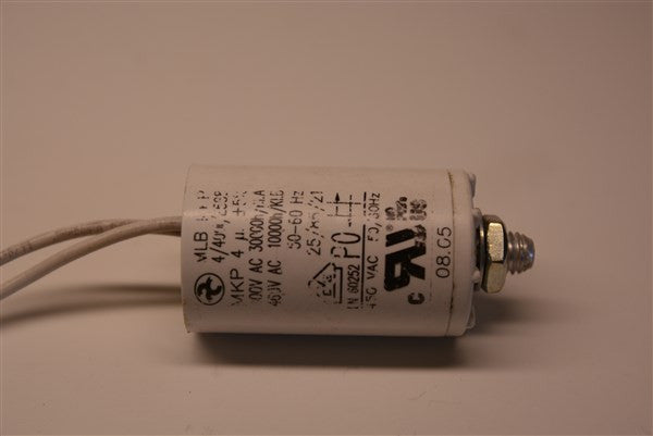 Capacitor for Solo Plus 30, 40, and Excel 2000 Draft Fan - Tarm Biomass - 2