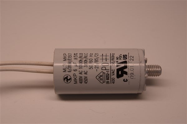 Capacitor for Solo Plus 60, and Excel 2200 Draft Fan - Tarm Biomass - 2