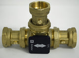 "LK 821 Diverter Valve 1¼"" Union Kit - Tarm Biomass - 1"