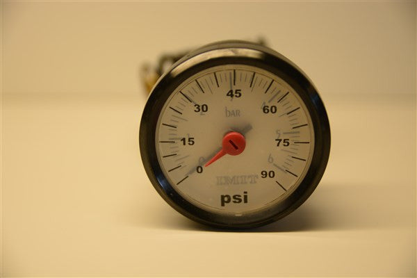 Pressure Gauge for Scandtec Solo Plus and Bonus Plus Boilers - Tarm Biomass - 1