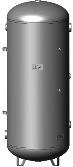 Thermal Storage Tank-400 Gallons - Tarm Biomass - 1
