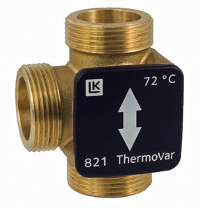 "LK 821 Diverter Valve 1¼"" Sweat Kit - Tarm Biomass - 2"
