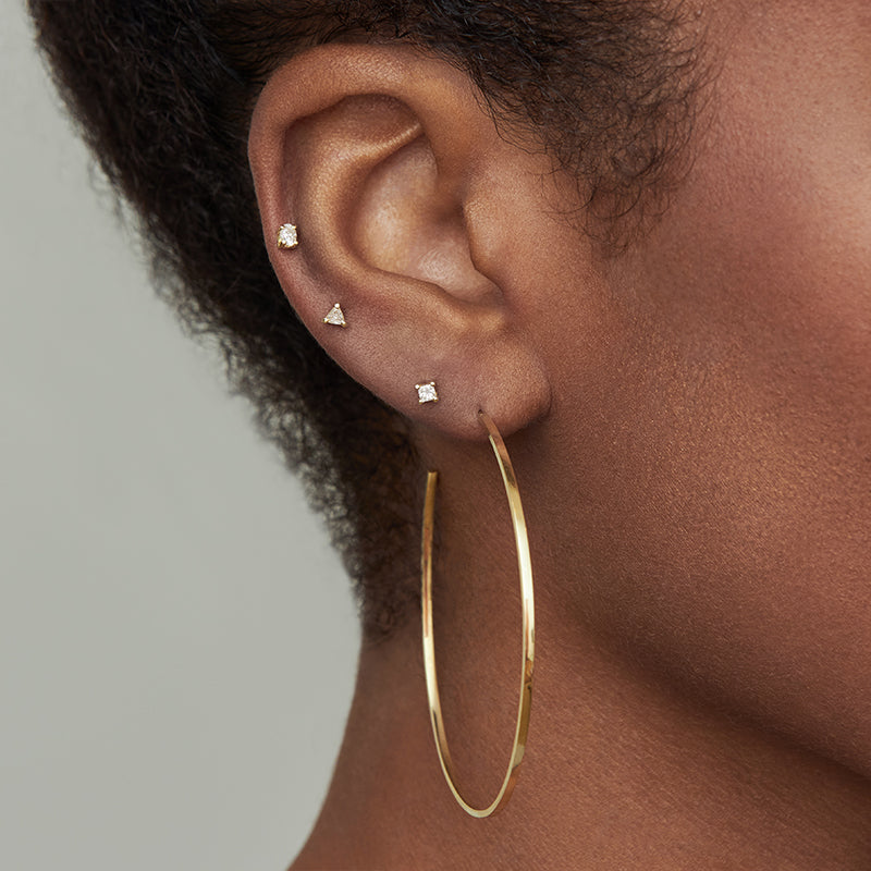Large Thin Hoops