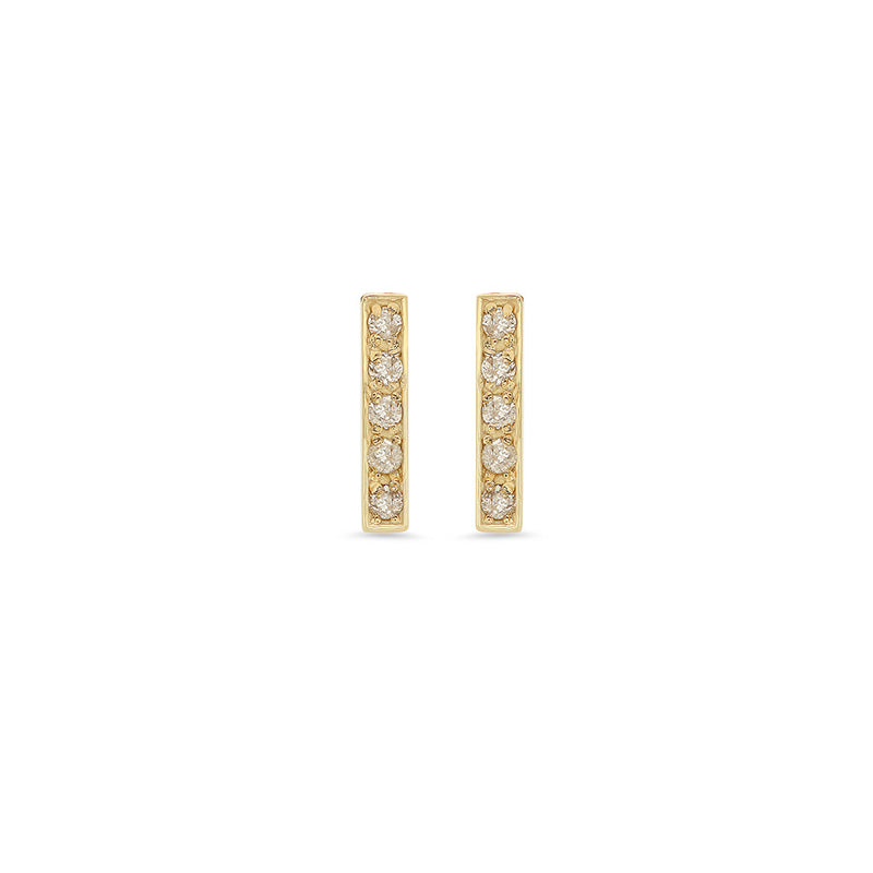 Diamond Bar Studs
