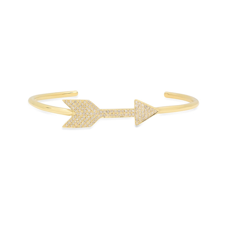 Diamond Full Arrow Cuff