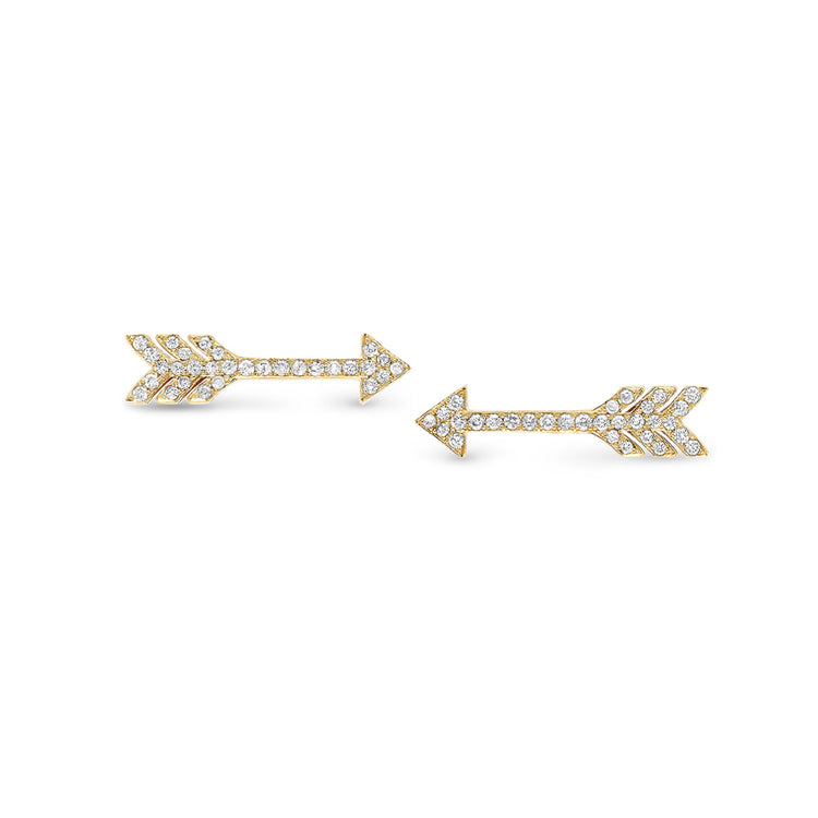 Diamond Extra Small Arrow Studs