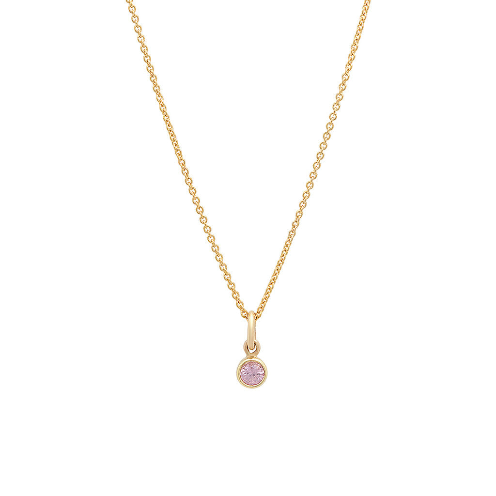 product saphire bay pink emerald and beehive sapphire necklace byron