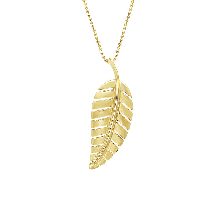 Large Leaf Necklace