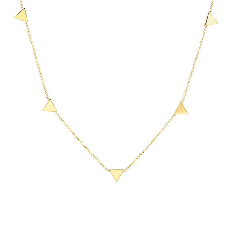 Triangle By-The-Inch Necklace