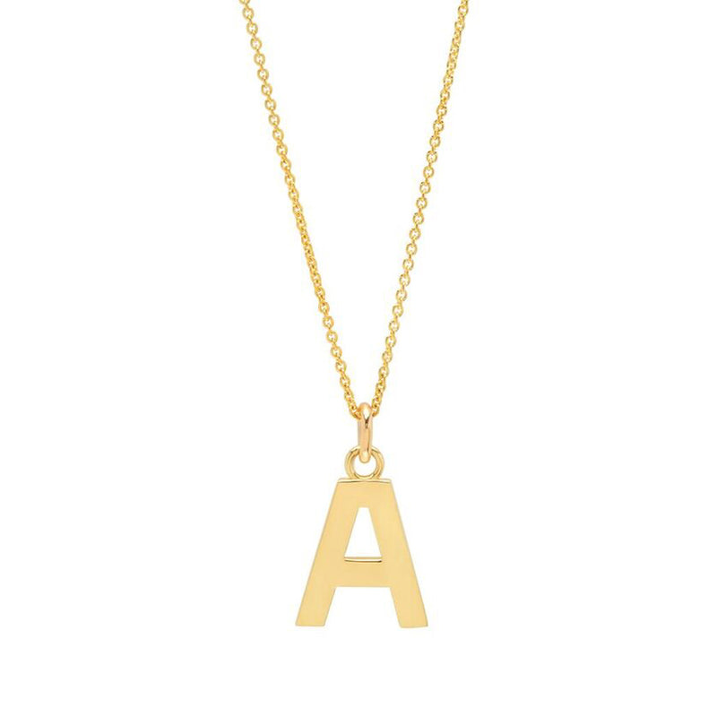 Jennifer meyer gold letter necklace gold letter necklace aloadofball Image collections