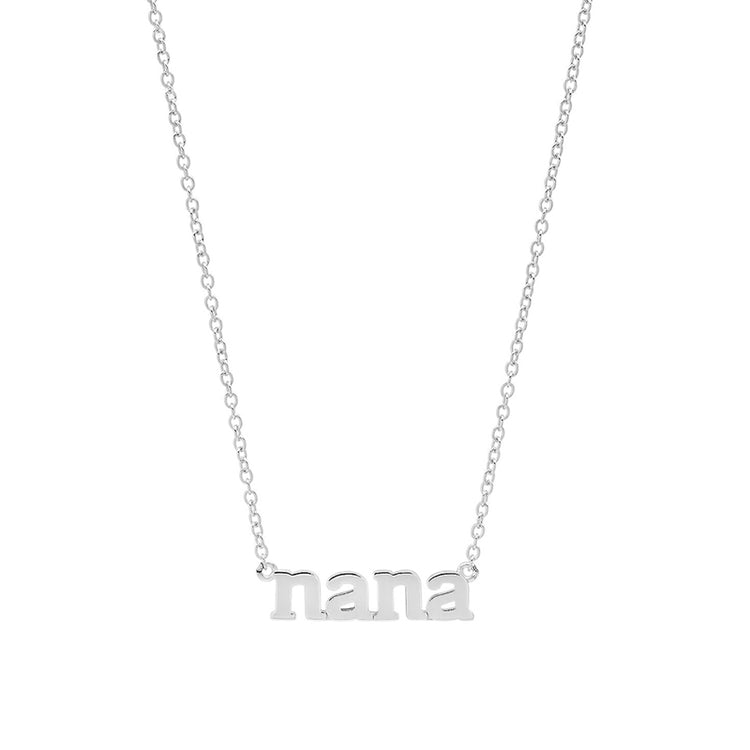 Nana Necklace - White Gold