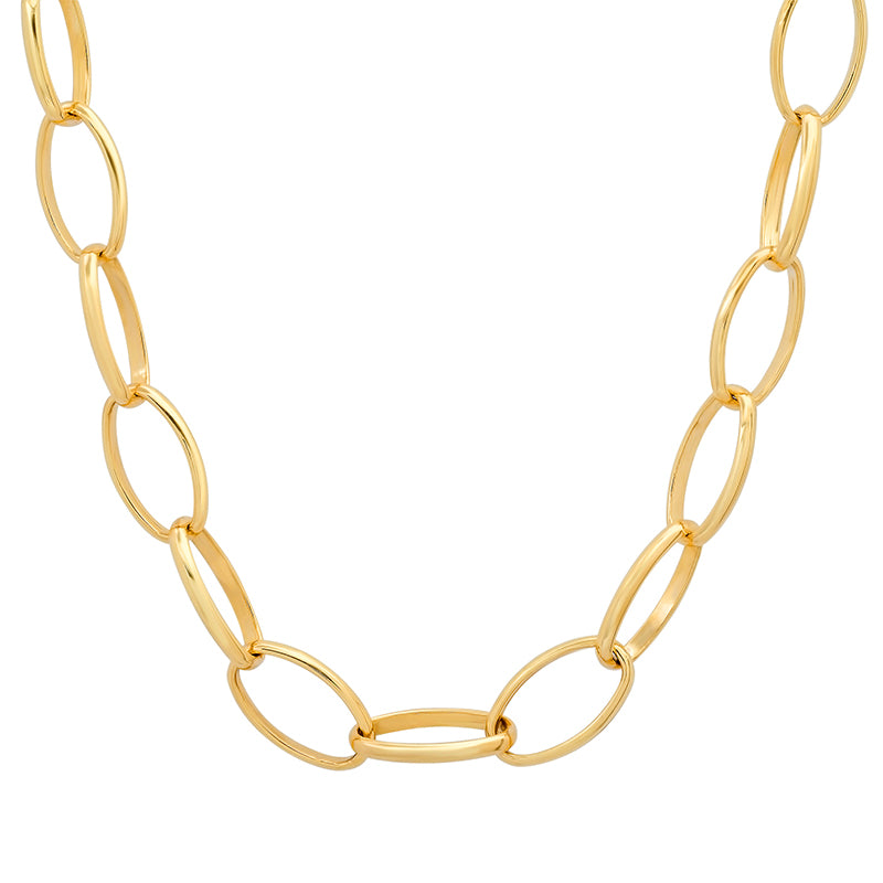 "15"" Large Edith Link Necklace"