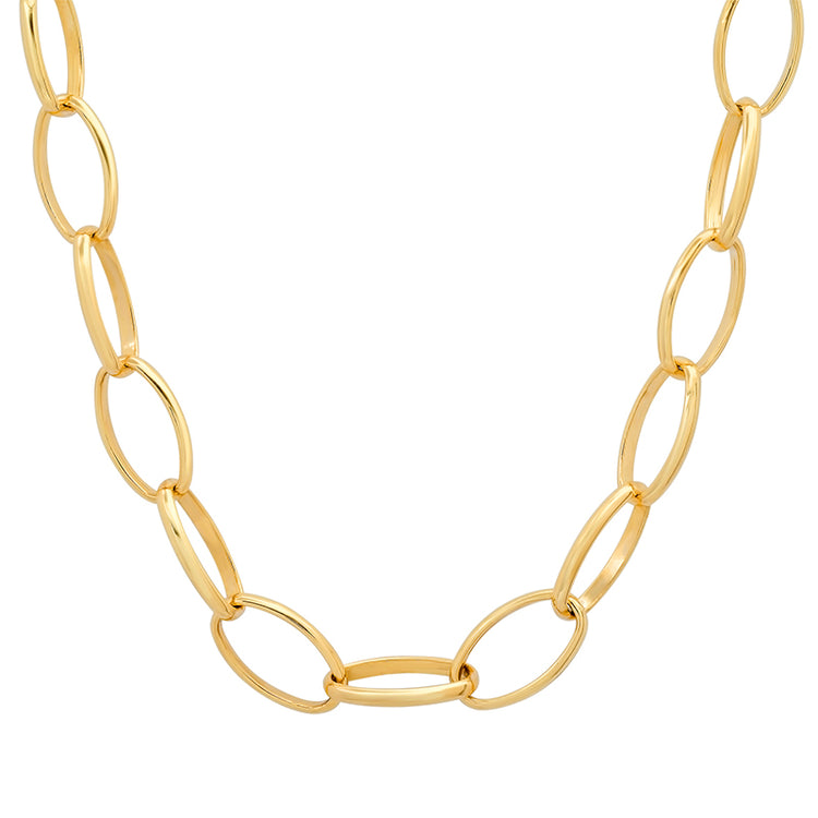 "30"" Large Edith Link Necklace"