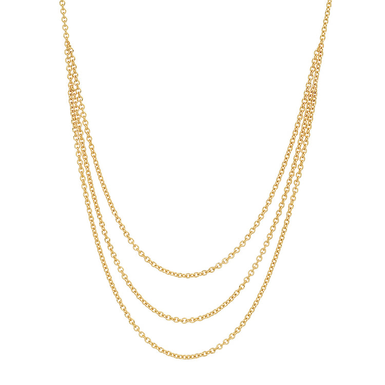 Tiered Chain Necklace