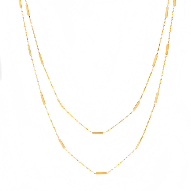 44 Inch Bar By-The-Inch Necklace