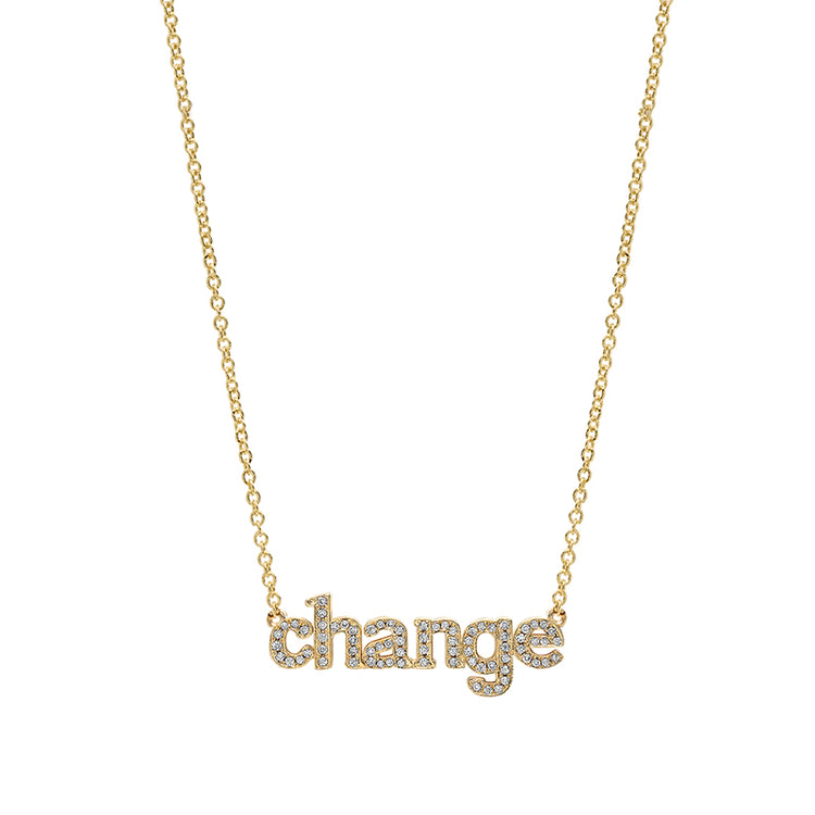 Diamond Change Necklace
