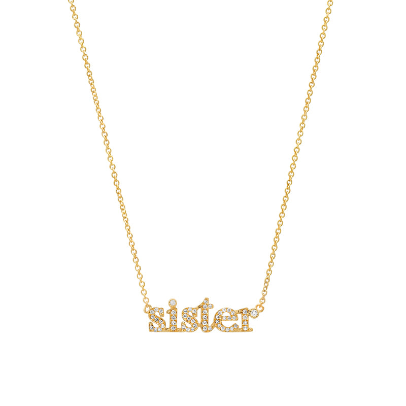 Diamond Sister Necklace