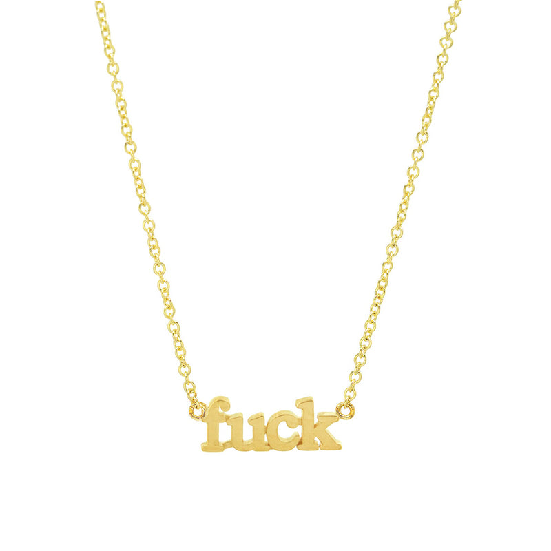 Fuck Necklace