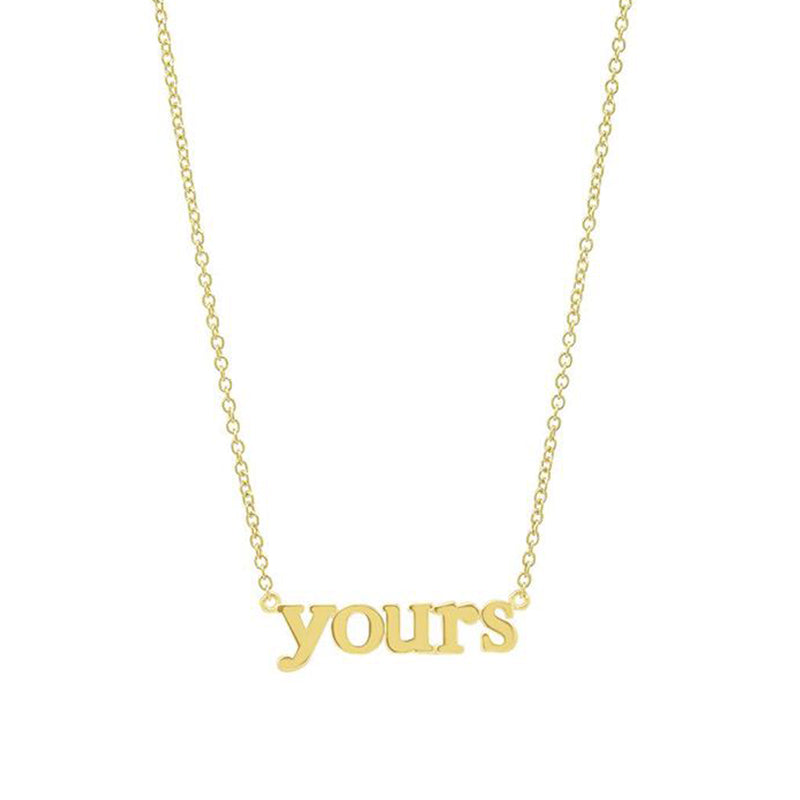 Yours Necklace