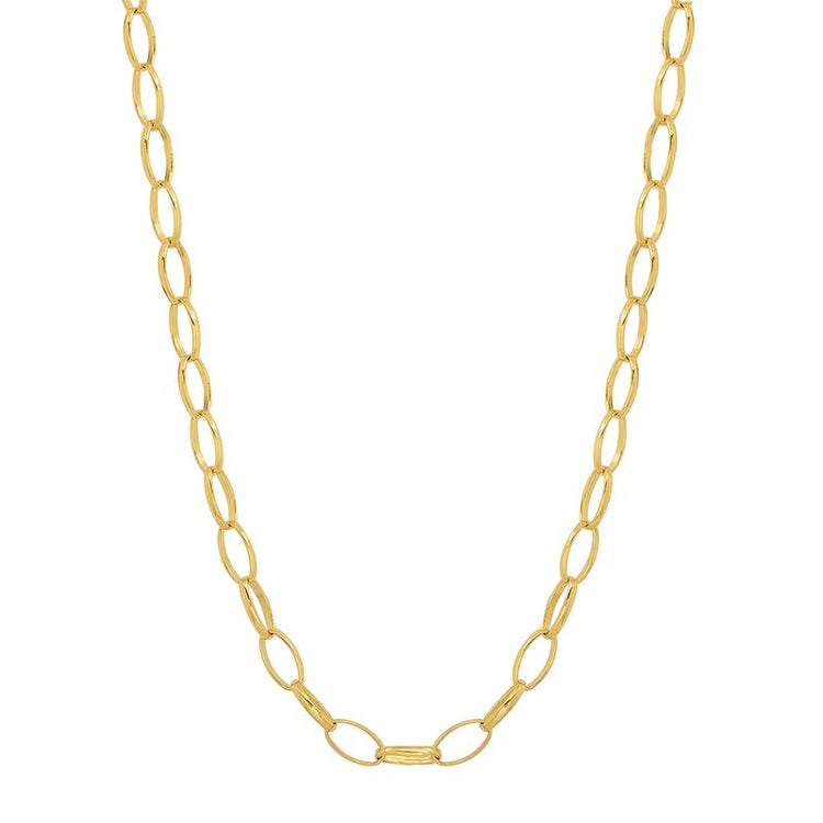 20 Inch Small Edith Link Necklace