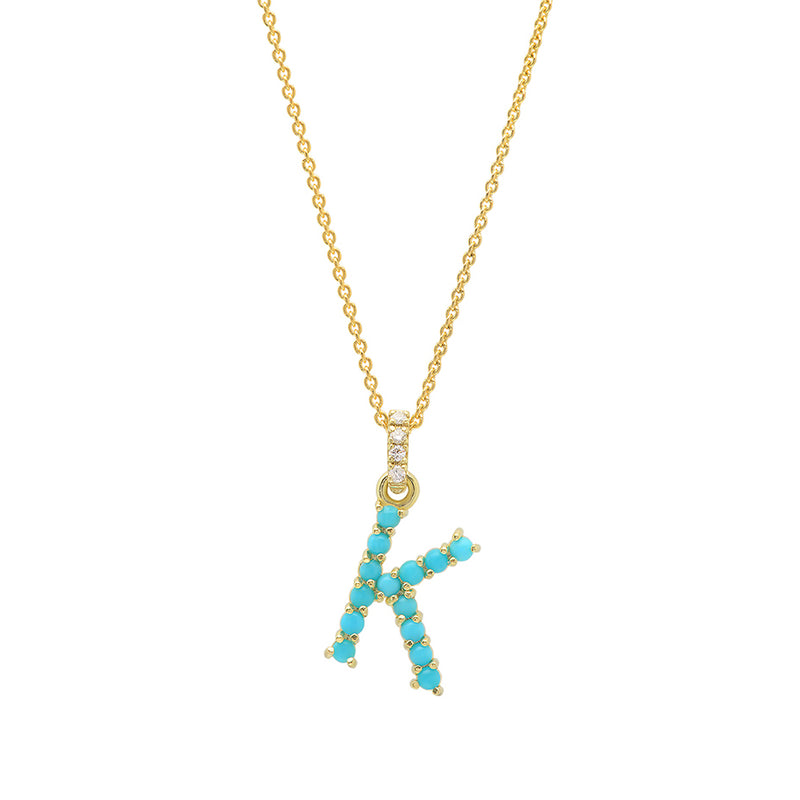 tiny your lowercase initial personalized full solid letter ultra necklace gold item
