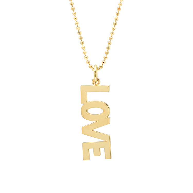 'Love' Pendant Necklace