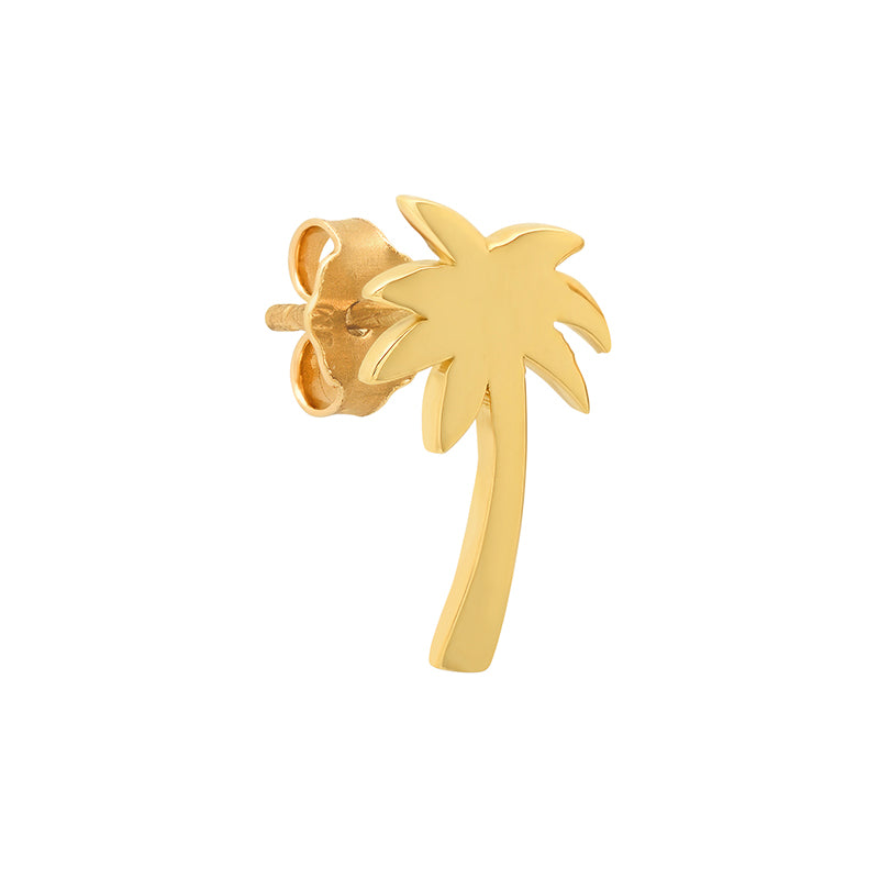Mini Palm Tree Studs