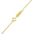 Channel Set Baguette Diamond Wishbone Necklace