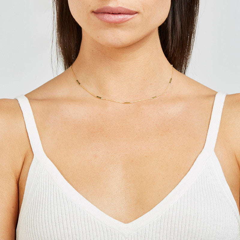 Bar By-The-Inch Necklace