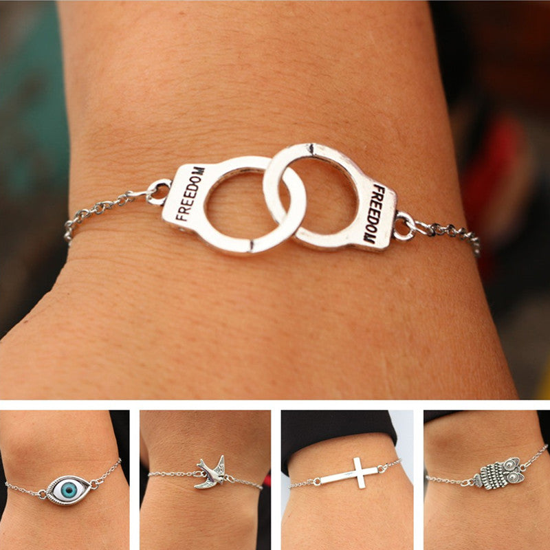 Retro Jewelry Link Chain Bracelets for men or women