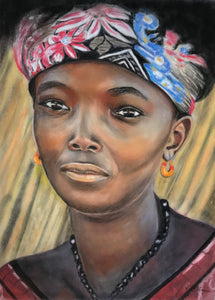 African Lady by Valerie Storer