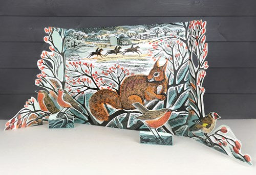 A Winters Tail - Free Standing Advent Calendar - Angela Harding