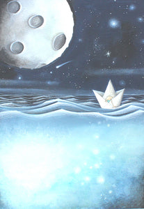 Afloat in a Paper Boat by Traci Howard