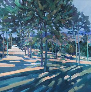 Pine Shadows by Christopher Bent