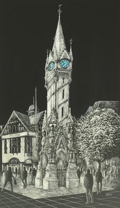 The Clock Tower by John Biddle