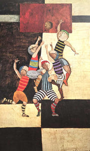 Basketball by Graciela Rodo Boulanger