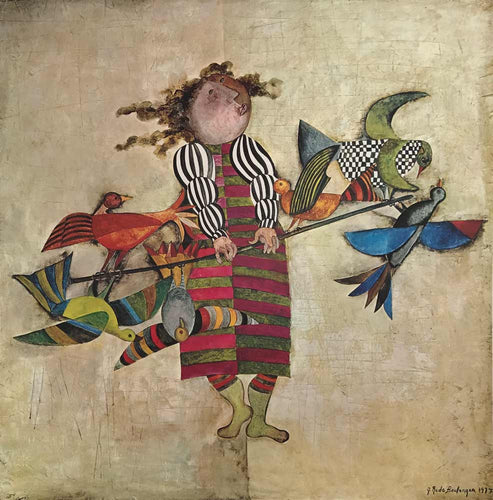 Bird Vendor by Graciela Rodo Boulanger