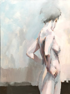 Standing Nude II by Scott Bridgwood