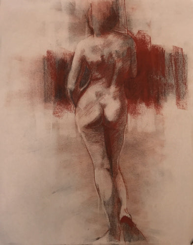 Study for Standing Nude II by Scott Bridgwood