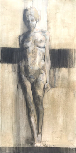 Walking Nude by Scott Bridgwood