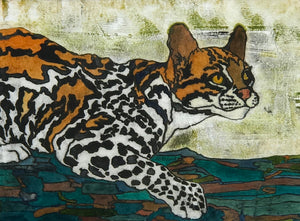 Ocelot by Christine Broadbent