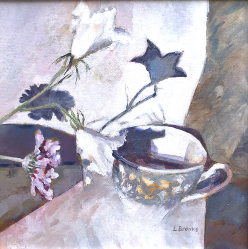 Mint Cup and Stars by Lesley Brooks
