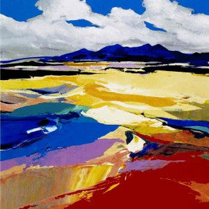 Beachscape Wester Ross by Donald Hamilton Fraser