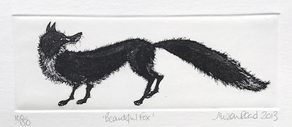 The Beautiful Fox by Alison Read