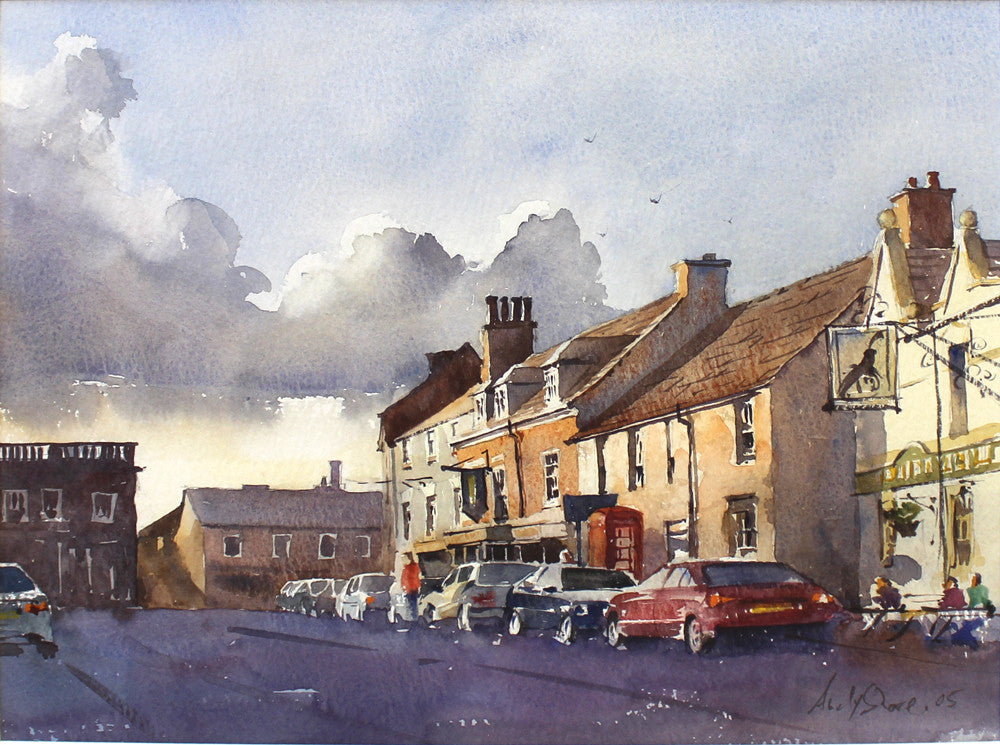Beside the Market Square, Market Bosworth by Andy Shore