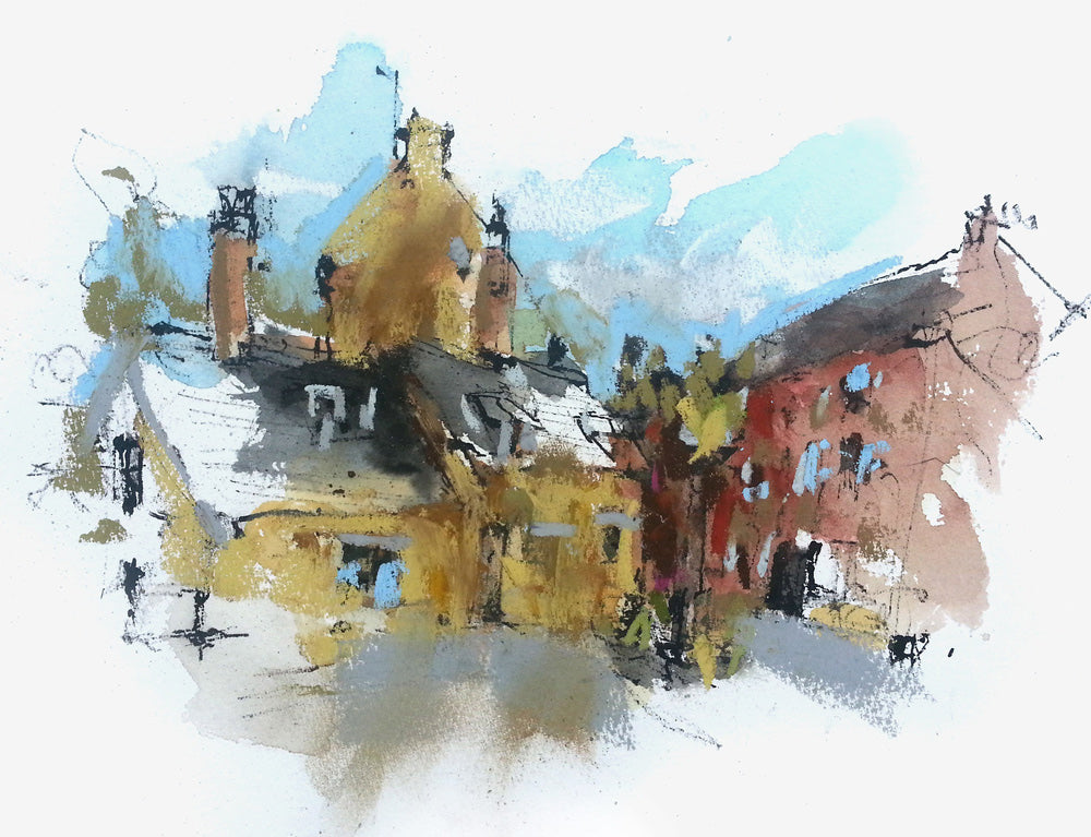 Billesdon, Leicestershire by Emma Fitzpatrick