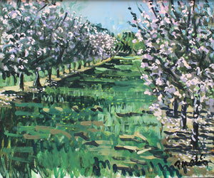 Blossoms in Cloud Shadows by Paul Meakins