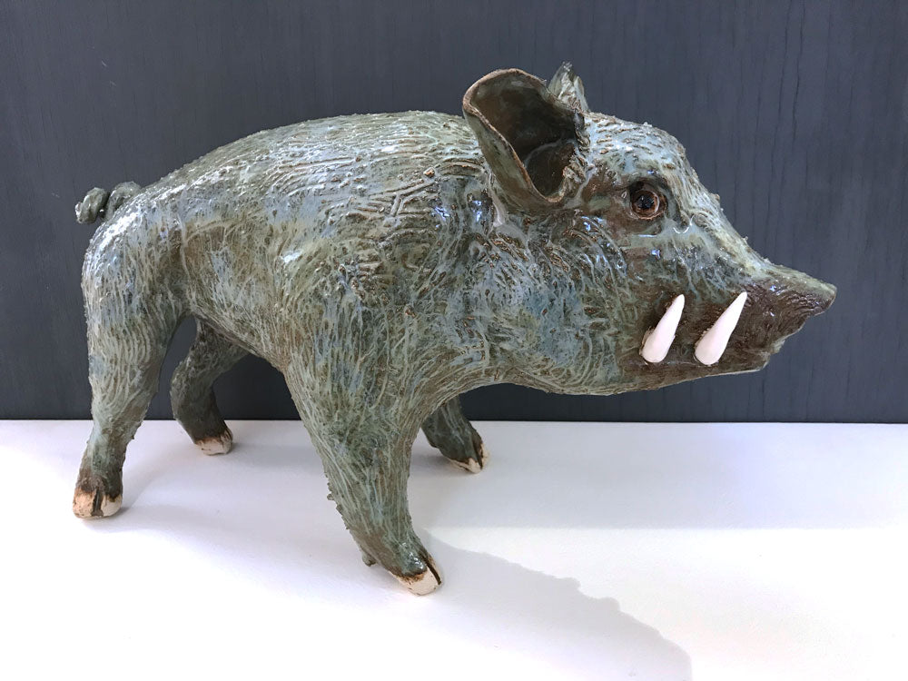 Blue Boar by Jennifer Birkby