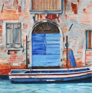 Blue Door, Venice by Carolyn Kay