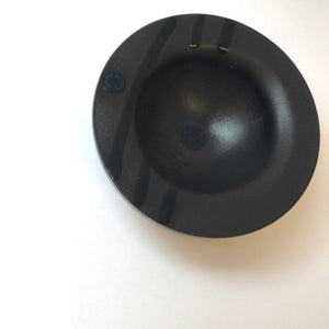 Black Porcelain Bowl by Perin Towlson